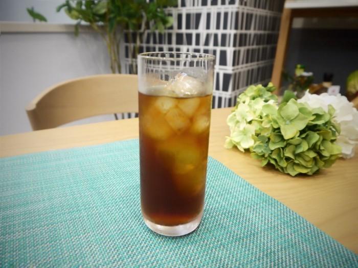 アイスコーヒーなど 通常のカフェメニューもご用意しております。 (お子様向けのジュースもあります)