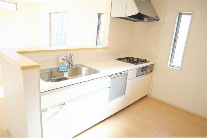 食器洗い乾燥機つき!毎日の家事が少し楽になりますね