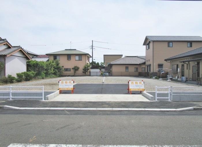 焼津市五ケ堀之内 1,441万円・1,445万円  造成完了しました。西焼津駅まで1本道沿いです!  人気のエリアに全2区画分譲地♪